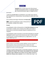 AXIOMA DE LA COMUNICACIÓN. WATZLAWICK