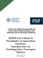 4. Parte I. Prioridades agricultura intensiva