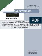 1.- M.D. EXTERIORES