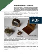 Condensatore variabile a barattolo-loria