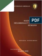 1.- MAESTRÍA EN DESARROLLO Y FACTOR HUMANO