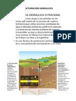 GEOLOGIA DEL PETROLEO FRACTURACION HIDRAULICA
