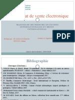 contrat de vente électronique