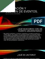 expo eventos academicos