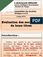 S4-CSA-Evaluation Des Ste Et de Leurs Titres