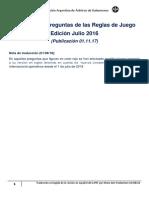 Catálogo de preguntas corregido 8-18 Reglamento Handball