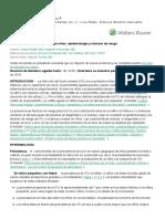 ITU en niños_ epidemiología y factores de riesgo