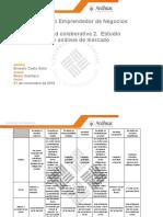 Actividad 2 - Estudio Organizacional y Análises de Mercado