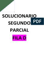 SOLUCIONARIO SEGUNDO PARCIAL FILA D