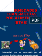 ENFERMEDADES TRANSMINITAS POR ALIMENTOS