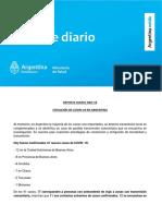 Reportaron 36 nuevos casos de coronavirus en Argentina y Misiones sigue sin casos