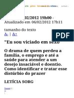 Dependência Sexual_ - ÉPOCA _ Vida