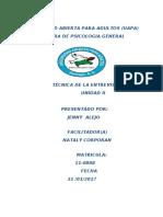 TECNICA DE LA ENTRVISTA IV.docx