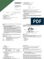 Atomic Clock Instructions Manual