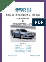 Marketing Course Work
