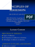 Principles of Adhesion
