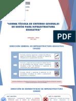Presentación NT Criterios Generales FINAL - DINOR MINEDU