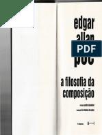 A filosofia da composição de Edgar Allan Poe