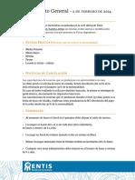 Reglamento Entis 2014