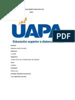 Unidad I TAREA DE TEST