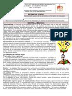 Guía Comportamiento Químico de Los Elementos y La for de Compu