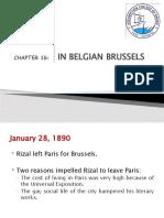 CHAPTER 16 -  IN BELGIAN BRUSSELS