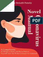 Novel Coronavirus Manual