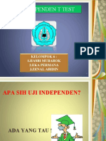 uji independen NEW.ppt