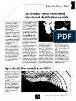 Agricultural films benefit from HALS
