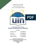 makalah ekonomi internasional