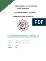 Historia de La Zootecnia