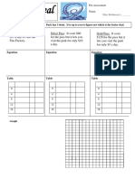 graphing performance assessment template