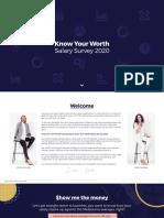 Salary Survey 2020 Report
