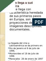 INICIOS DEL CINE BOLIVIANO