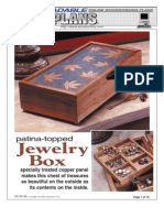 WoodPlans Online - Jewelry Box