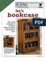 WoodPlans Online - Barrister's Bookcase