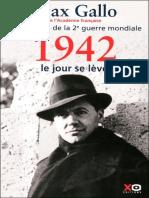 1942-Le jour se leve - Gallo,Max