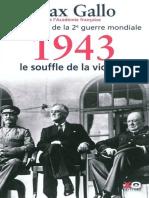 1943-Le souffle de la victoire - Gallo,Max