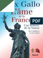 ame de la France_ Une histoire de la nation des origines a nos jours, L' - Gallo, Max