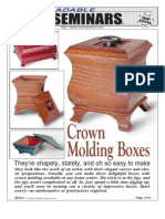 WoodPlans Online - Crown Molding Boxes