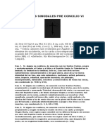 IV - Canones Sinodales Pre Concilio VI de San Agaton