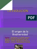 LA EVOLUCION ORIGINAL