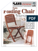 WoodPlans Online - Folding Chair