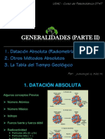 CAP1 Parte B - DATACION ABSOLUTA