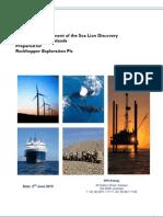 Volumetric Assessment of Sea Lion 2010