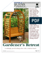 WoodPlans Online - Gardener's Retreat