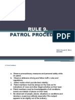 RULE-9-Patrol-Procedures