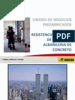 Presentacion - Resistencia al fuego -albañileria de concreto