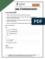 1.Python Language Fundamentals.pdf