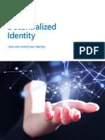 Microsoft Decentralized Identity